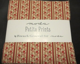 Moda - Petite Prints by French General Charm Pack