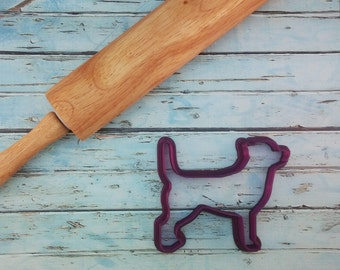 Dog or Puppy Cookie Cutter or Fondant Cutter and Clay Cutter