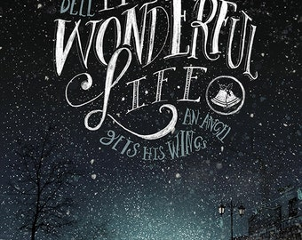 It's a Wonderful Life Limited Edition Giclee Print