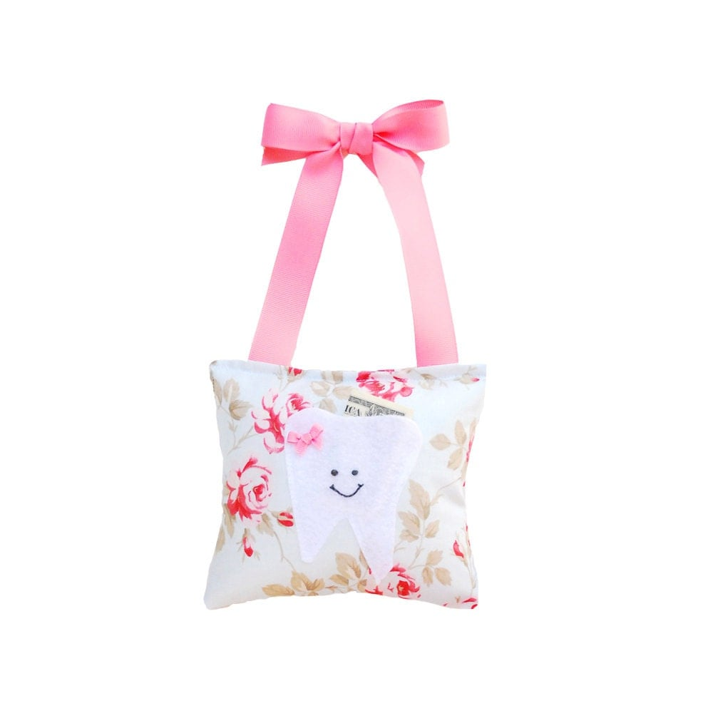 Tooth Fairy Pillow Girls Tooth Fairy Gift by ...