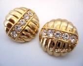 Vintage SWAROVSKI Crystal Earrings SAL