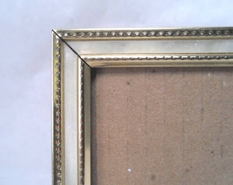 Hologram 5 x 7 Table/Wall Frame w/ Faux Mother of Pearl Inlay Vintage 60s  #160, #185
