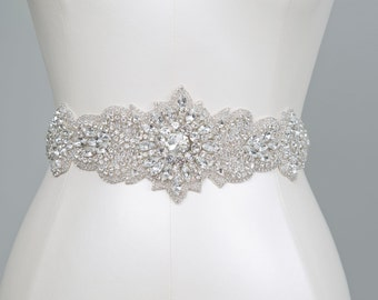Grace Crystal Bridal Belt