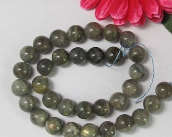Natural Labradorite 12mm round Loose Beads