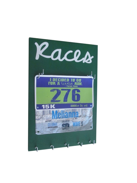 A Race Bibs Holder that adds Style to your running Bibs