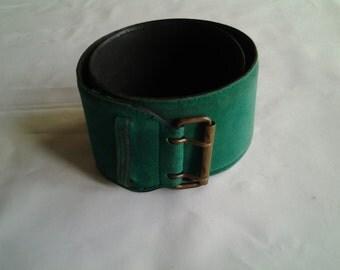 AZZEDINE ALAÏA  belt from 80s