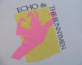 ECHO And The BUNNYMEN 80s SHIRT