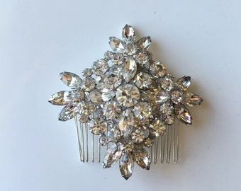 Vintage showstopper brooch hairpin