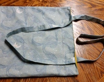 Fabric Bag in Happy Moon Print with Polyester Lining