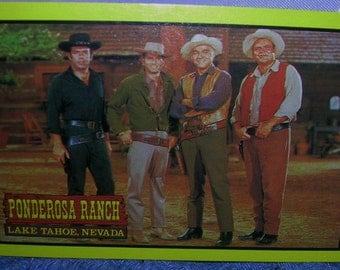 Bonanza TV Show Collectable Playing Cards