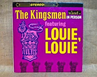 THE KINGSMEN - The Kingsmen in Person - 1964 Vintage Vinyl Record Album