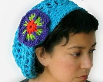 Crochet Hat Pattern - Penelope's Summer Slouch Hat crochet pattern - Infant to Adult Sizes - pdf