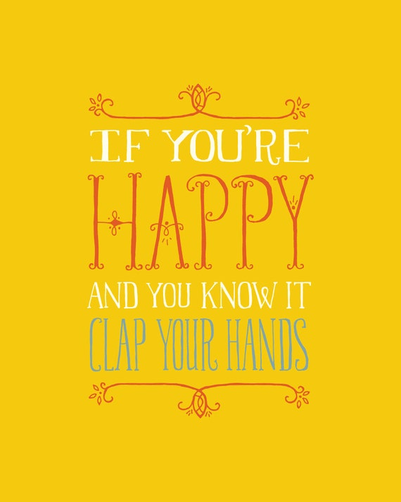 If you 39 re happy and you know it clap your hands small for If you re happy and you know it coloring page