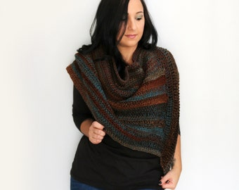Blanket Scarf, Woodlands Blend Oversized Shawl Wrap,  Extra Wide Scarf, Winter Accessories