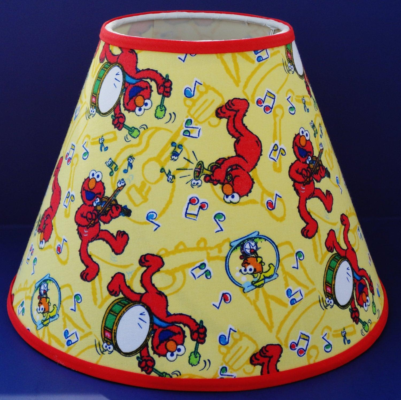 Elmo Music Lamp Shade Sesame Street Lampshade