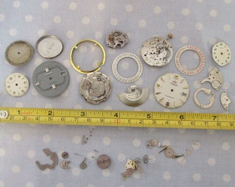 Antique Watch Parts Face Jewelry Supplies (CC)