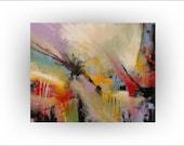 Abstract art Acrylic Original painting Wall decor - 24 x 30-Art - Skye Taylor