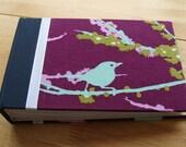 Bird Photo Album/ Small Photo Guest Book/ Winter Album