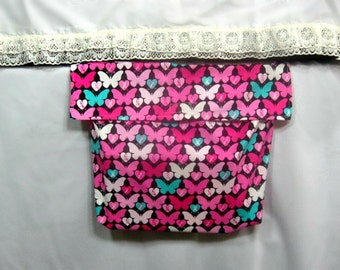 Pink bed pocket