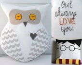 Harry Potter's Hedwig Plush Owl (Large) -- Owl Always Love You