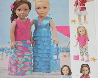 "Simplicity Doll Pattern  # 1178 For 18"" Doll"