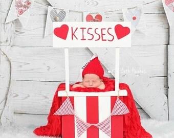 Hershey Kisses Inspired Beanie Newborn to Adult Photo Prop