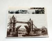 15 Vintage London England Postcards Used