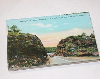 25 Vintage Missouri Postcards Blank - Travel Themed Wedding Guestbook