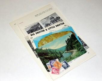 Idaho - United States Vintage Travel Collage Kit