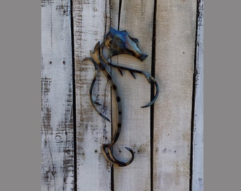 Free Shipping!!! Steel Seahorse:metal wall art,wall hangings,SH007
