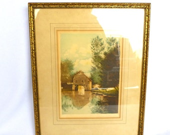 VINTAGE FRENCH LITHO
