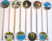 Take 20% Off NINE Las Vegas Hotel Photograph Novelty Swizzle Sticks