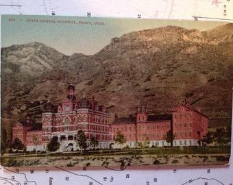 State Mental Hospital Provo Utah uncirculated