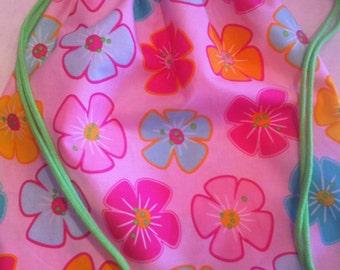 Cinch Sak- Aloha Flowers