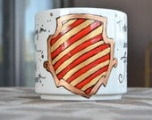 Made to Order - Gryffindor House Cup - Hogwarts Houses - Scarlet, gold, white - Pottermore - Brave, chivalrous, daring - Harry Potter -Crest