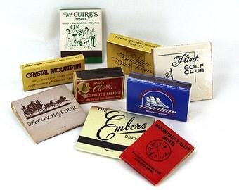 Michigan Matchbox Vintage 1950 Collection 9