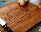 Engraved Cutting Board - Personalized Gift - Engraved Gift - Wedding Gift - Realtor Closing Gift - Housewarming Gift