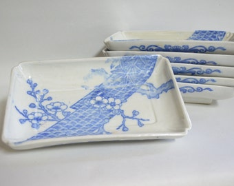 Meiji inban  4588,  transfer design  decorated plate,