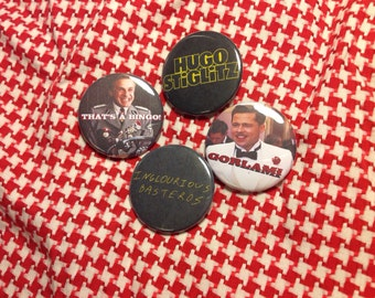 "Inglourious Basterds 4 pack 1.5"" buttons"