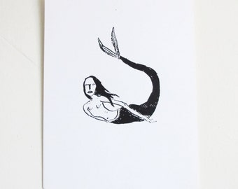 Sea Lady print