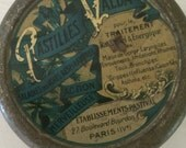 Antique French Candy Tin - Pastilles Valda