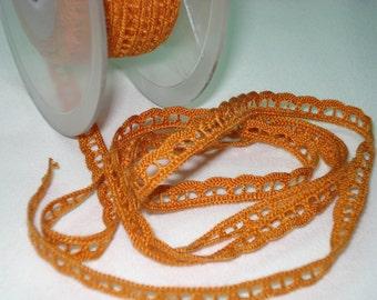 Acrylic ORANGE Lace Ribbon