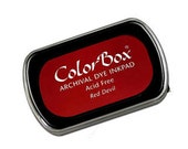 Colorbox Archival Dye Ink Pad (Full Size) - Red Devil