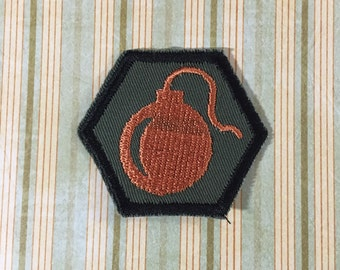 STEAMPUNK Merit Badge - Explosives Bomb Steampunk Scouts
