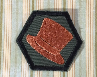 STEAMPUNK Merit Badge - Top Hat Steampunk Scouts