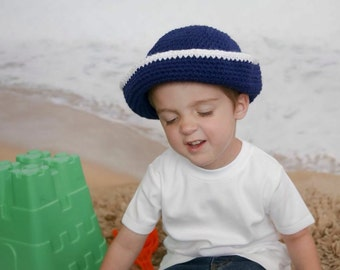 Sailor Hat (fits babies to adults)