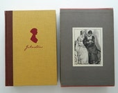 Pride and Prejudice by Jane Austen. vintage illustrated edition with slipcase.