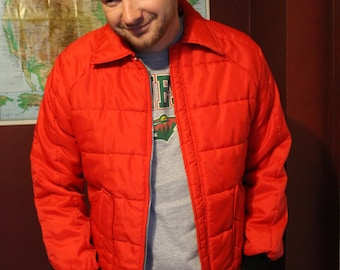 Red Winter Coat Vintage Start the winter off right Unisex