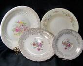 Vintage Mismatched Serving Dishes Bowls