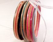 Recycled Skateboard Wood Bracelet Set